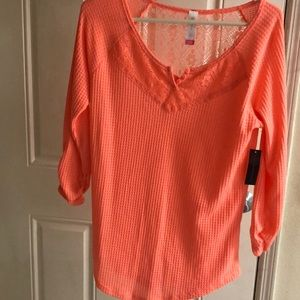 Women's mid sleeve thermal top